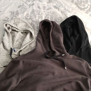 H&M Side-Zip Hoodies Size Small 3 for $30